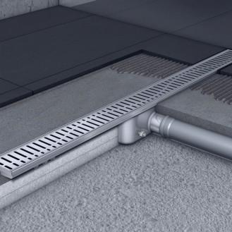 Душевой канал C - без фланца 585 мм, высота 65 мм.